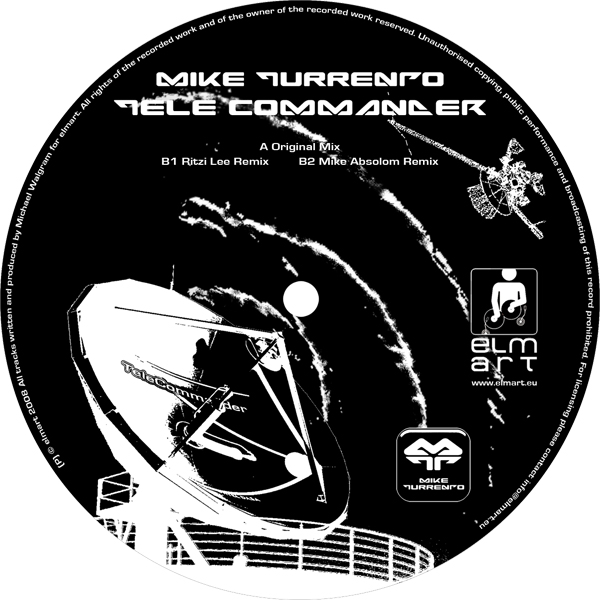 ELMA002 Cover Mike Turrento - Tele Commander