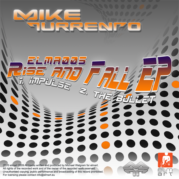 ELMA005 Cover Mike Turrento - Rise And Fall EP