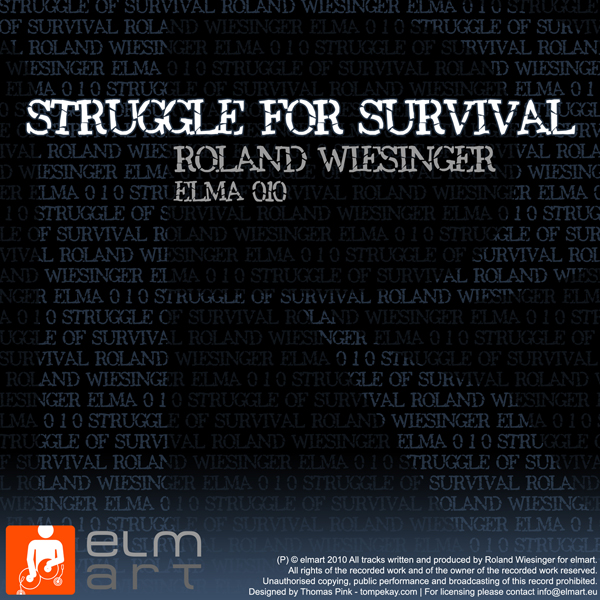 ELMA010 Cover Roland Wiesinger - Struggle for Survival EP