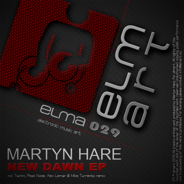 ELMA029 Cover Martyn Hare - New Dawn EP