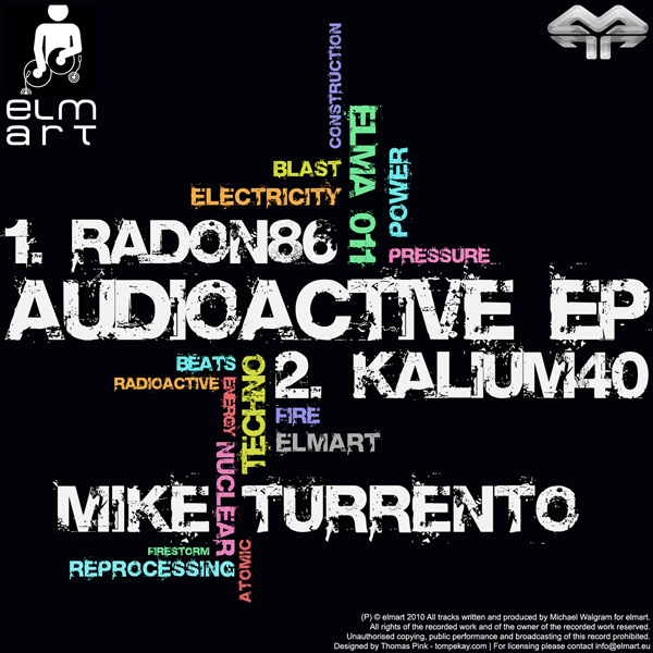 ELMA011 Cover Mike Turrento - Audioactive EP