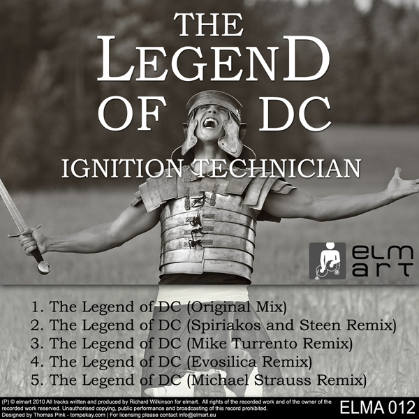 ELMA012 Cover Ignition Technician - The Legend of DC
