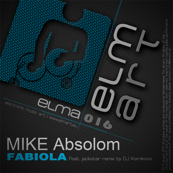 ELMA016 Cover Mike Absolom - Fabiola