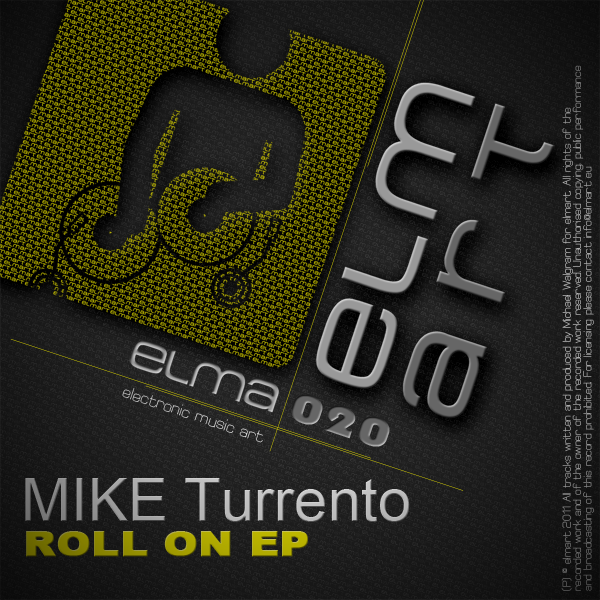 ELMA020 Cover Mike Turrento - Roll On EP