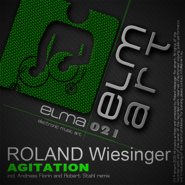 ELMA021 Cover Roland Wiesinger - Agitation