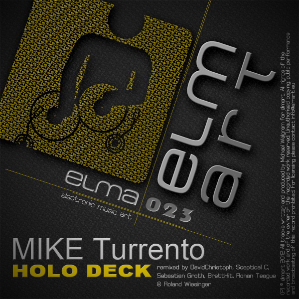 ELMA023 Cover Mike Turrento - Holo Deck