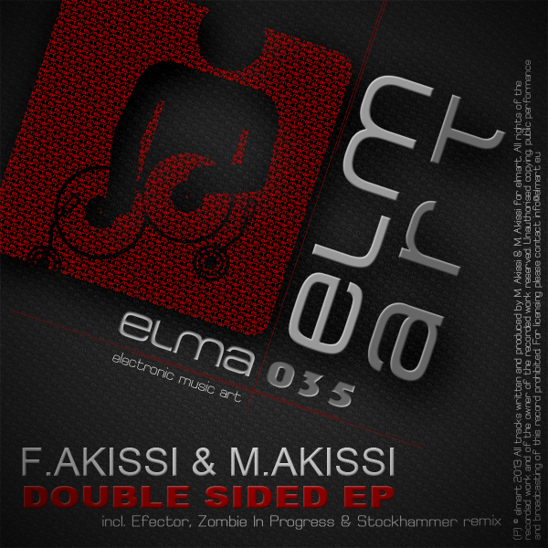 ELMA035 Cover F. Akissi, M. Akissi - Double Sided EP