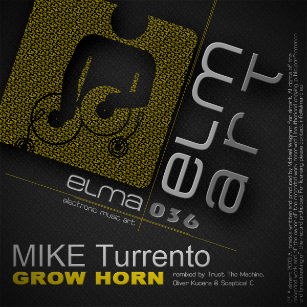 ELMA036 Cover Mike Turrento - Grow Horn