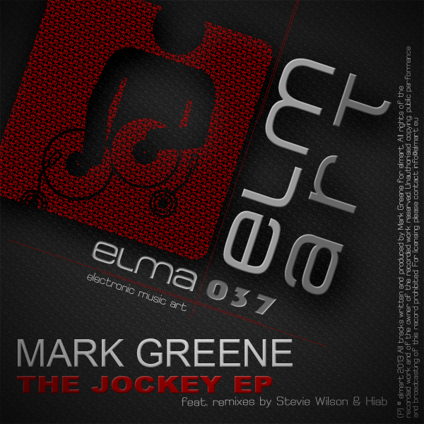 ELMA037 Cover Mark Greene - The Jockey EP