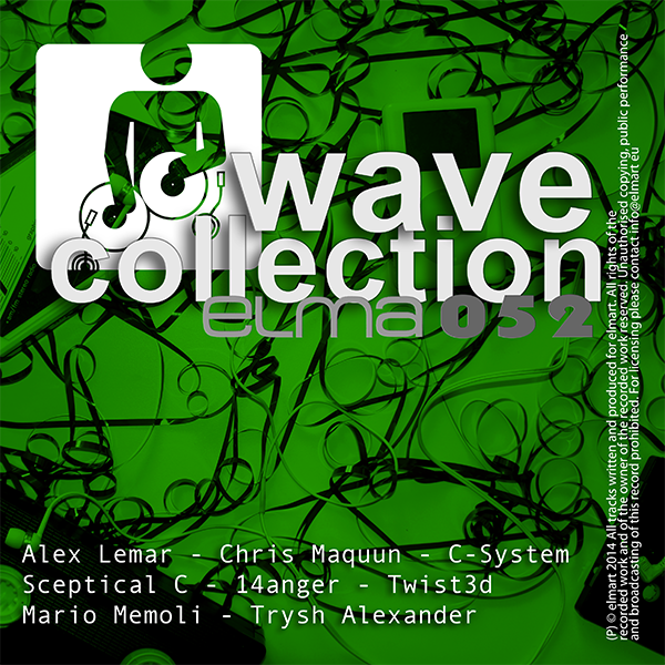 ELMA052 Cover Various Artists - elmart Wave Collection Part 3