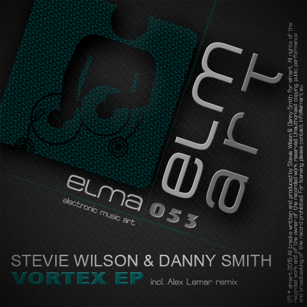 ELMA053 Cover Stevie Wilson & Danny Smith - Vortex EP