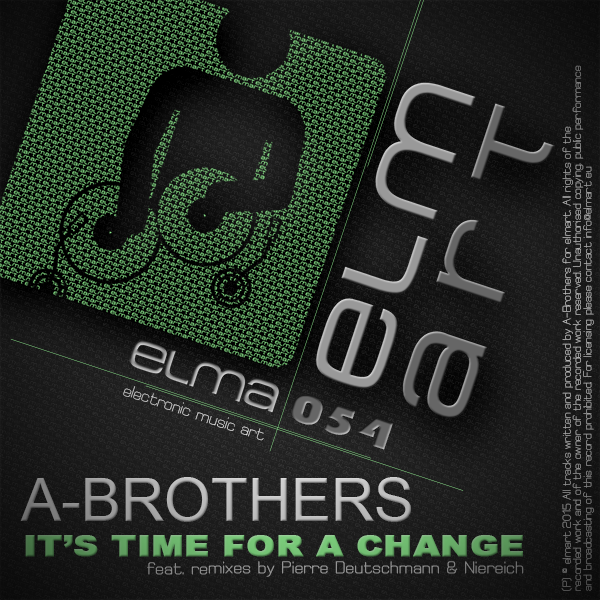 ELMA054 Cover A-Brothers - It's Time For A Change