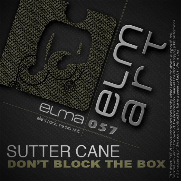 ELMA057 Cover Sutter Cane - Don't Block The Box