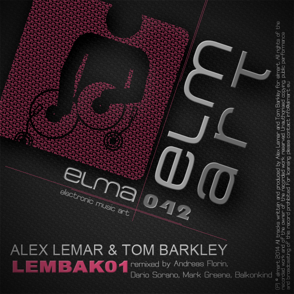 ELMA042 Cover Alex Lemar & Tom Barkley - Lembak01
