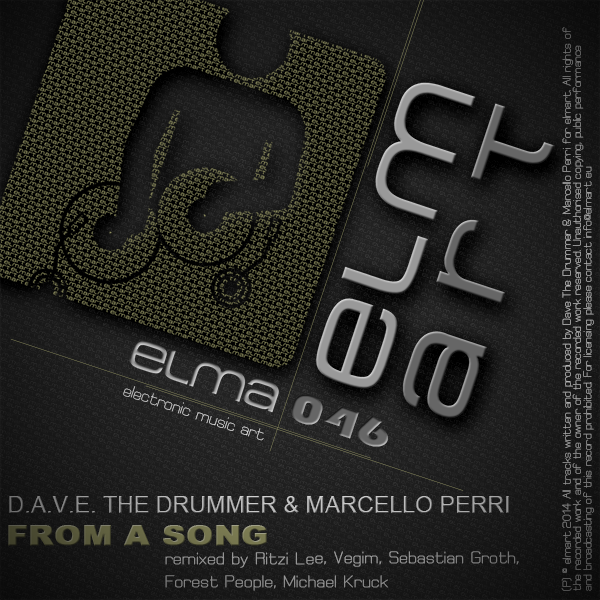 ELMA046 Cover Marcello Perri & D.A.V.E The Drummer - From A Song