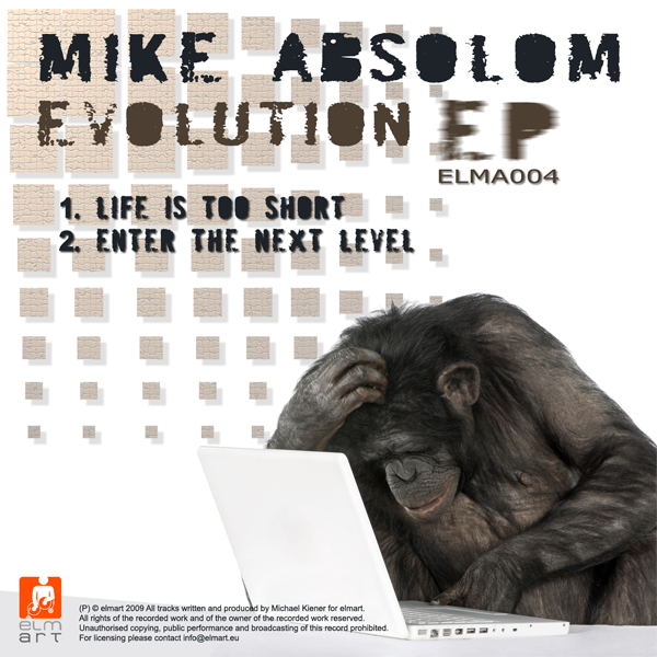 ELMA004 Cover Mike Absolom - Evolution EP