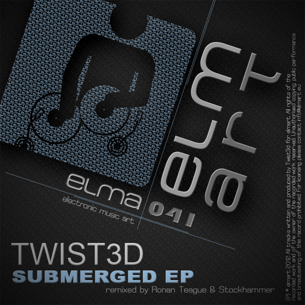 ELMA041 Cover Twist3d - Submerged EP