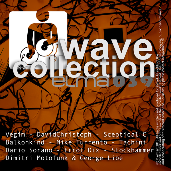 ELMA039 Cover Various Artists   ELMART WAVE COLLECTION